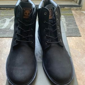 Timberland black boots . Brand new with box
